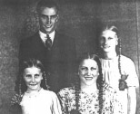 Robert Page with his sisters