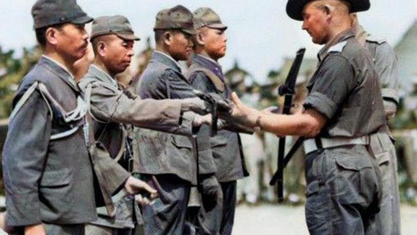 Final Japanese Surrender in Papua New Guinea – Sept 2020 Kundu