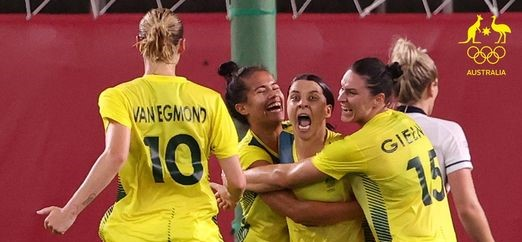 Kicking off a little PNG power for the Olympics and Matildas!