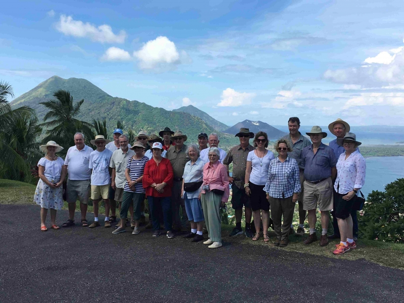 36-75th Anniversary tour group