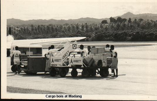 h Cargo trolley & Boys Madang