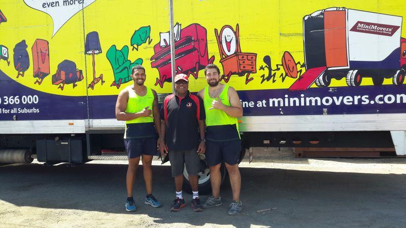 SteveG with Transport crew