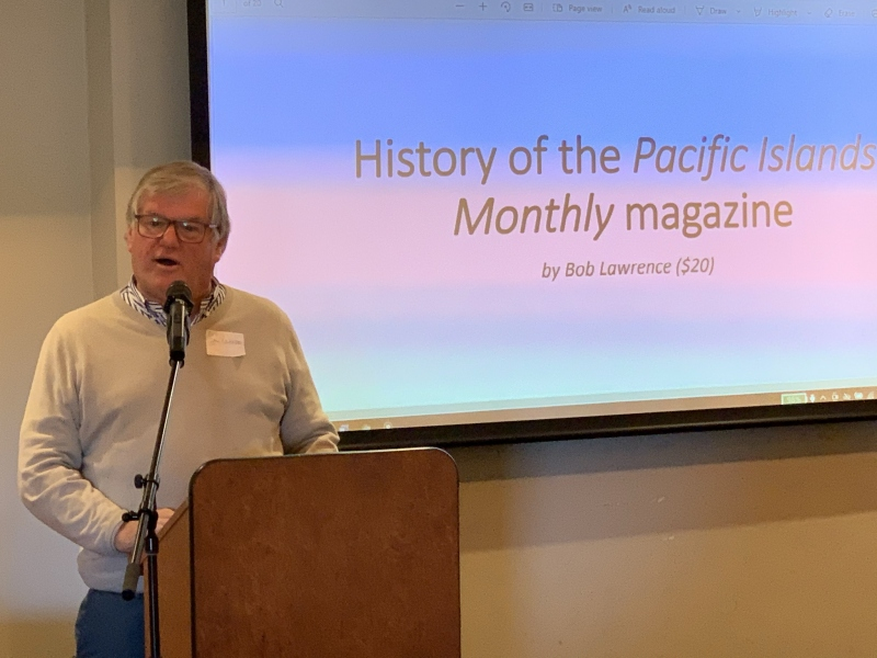 Bob Lawrence and the History of the Pacific Islands Magazine 6 June 2021