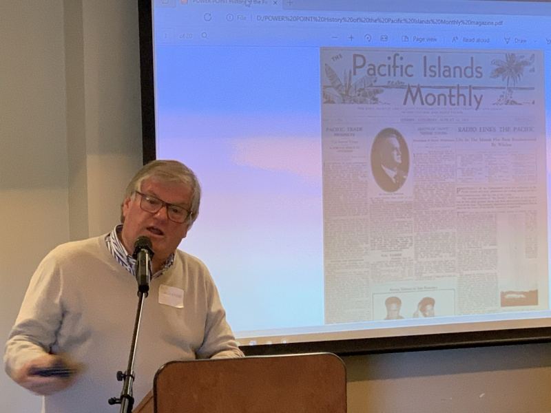 Bob Lawrence and the History of the Pacific Islands Magazine - the first cover -  6 June 2021