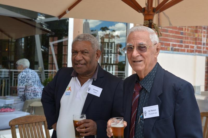 PNG-Consul-General-Sumasy-Singin-with-Sir-Ramon