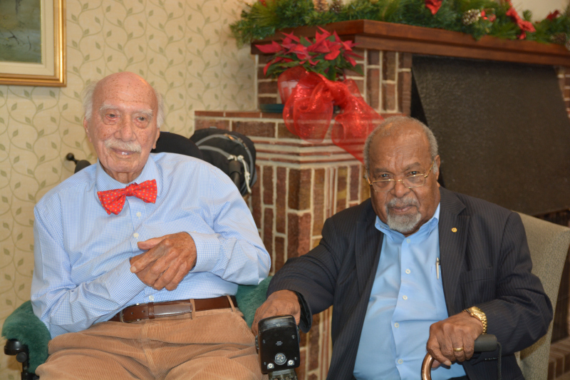PNGAA-Patron-Fred-Kaad-OBE-with-Sir-Michael-Somare