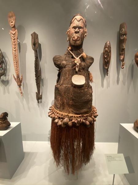 Body Mask, Asmat people, Ambisu Village, PNG;